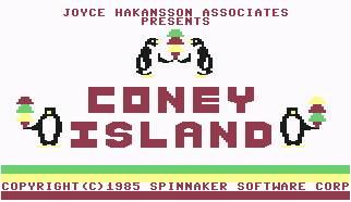 Pantallazo de Coney Island para Commodore 64