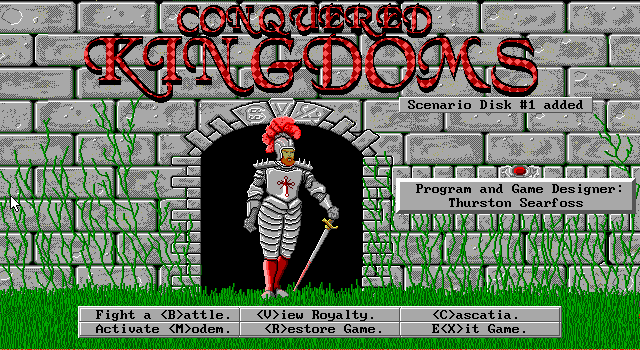 Pantallazo de Conquered Kingdoms para PC