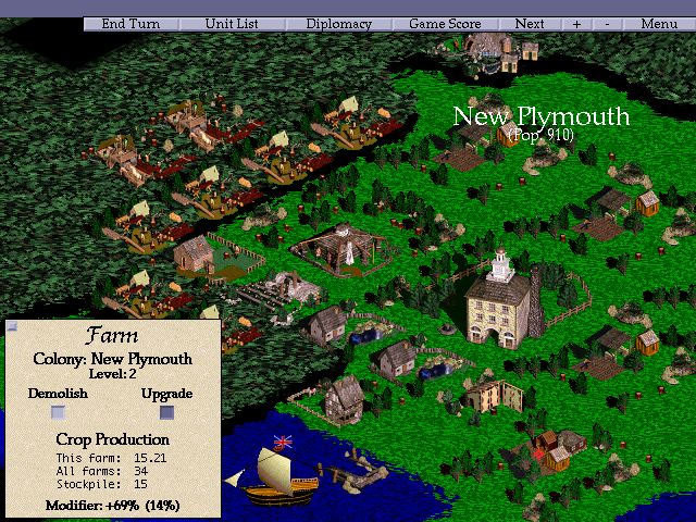 Pantallazo de Conquest of the New World para PC