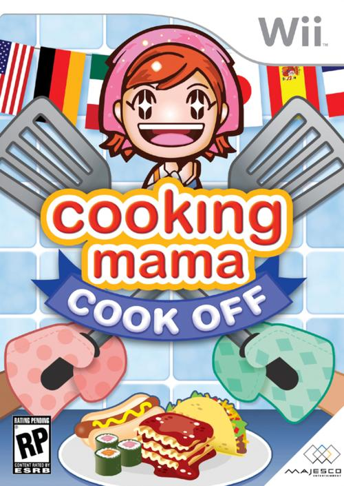 Caratula de Cooking Mama: Cook Off para Wii