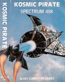 Caratula de Cosmic Pirate (1983) para Spectrum