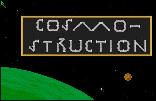 Pantallazo de Cosmo-Struction para Amiga