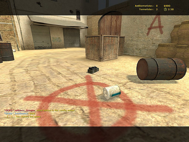 Pantallazo de Counter Strike Source para PC