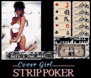 Pantallazo de Cover Girl Strip Poker para Amiga