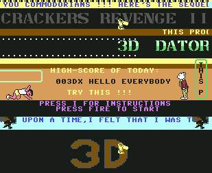 Pantallazo de Crackers Revenge II para Commodore 64