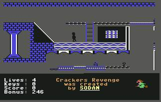 Pantallazo de Crackers Revenge para Commodore 64