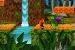Pantallazo de Crash Bandicoot: The Huge Adventure para Game Boy Advance