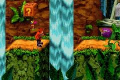 Pantallazo de Crash Bandicoot S/X para Game Boy Advance