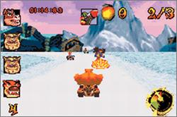 Pantallazo de Crash Nitro Kart para Game Boy Advance