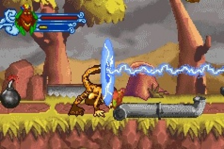Pantallazo de Crash Of The Titans para Game Boy Advance