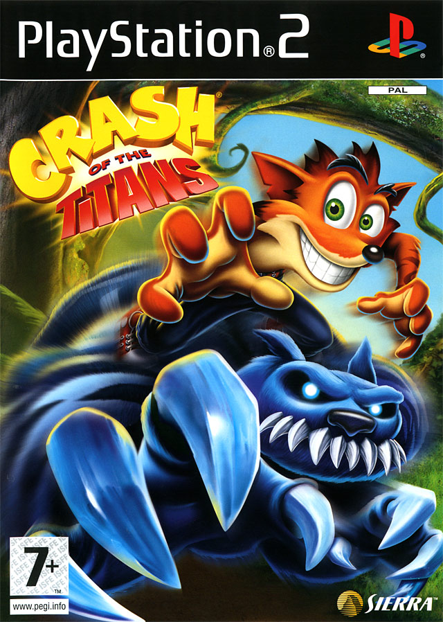 Caratula de Crash Of The Titans para PlayStation 2