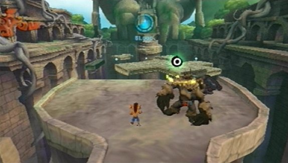 Pantallazo de Crash Of The Titans para PSP