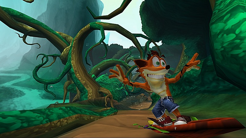 Pantallazo de Crash Of The Titans para Wii