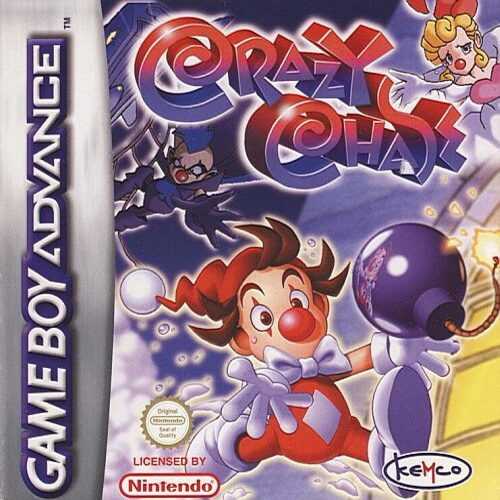 Caratula de Crazy Chase para Game Boy Advance