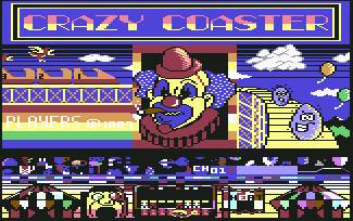 Pantallazo de Crazy Coaster para Commodore 64