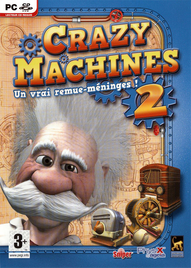 Caratula de Crazy Machines II para PC