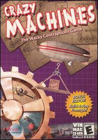 Caratula de Crazy Machines para PC