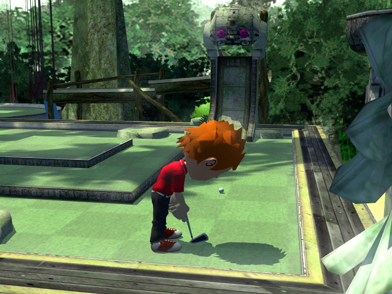 Pantallazo de Crazy Mini Golf para Wii