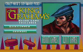 Pantallazo de Crazy Nick's Pick: King Graham's Board Game Challenge para PC