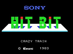 Pantallazo de Crazy Train para MSX