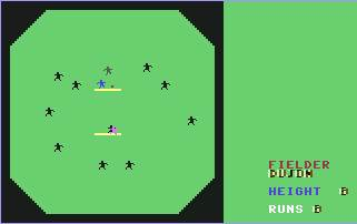 Pantallazo de Cricket Interantional para Commodore 64