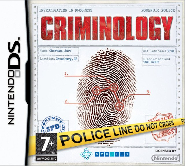 Caratula de Criminology para Nintendo DS