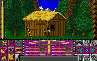 Pantallazo de Crossbow: The Legend of William Tell para Atari ST