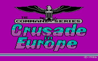 Pantallazo de Crusade in Europe para PC