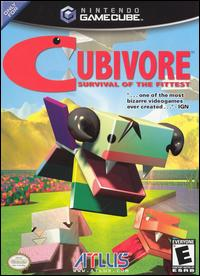 Caratula de Cubivore: Survival of the Fittest para GameCube