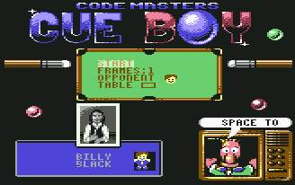 Pantallazo de Cue Boy para Commodore 64