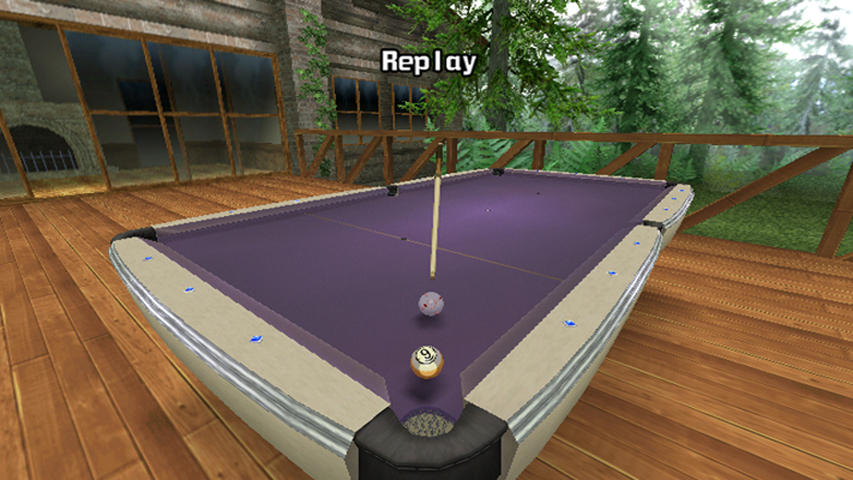 Pantallazo de Cue Sports: Snooker Vs Billiards para Wii
