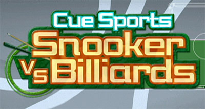 Caratula de Cue Sports: Snooker Vs Billiards para Wii