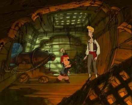 Pantallazo de Curse of Monkey Island, The para PC