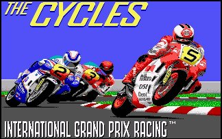 Pantallazo de Cycles, The: International Grand Prix Racing para Amiga