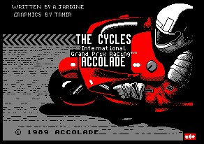 Pantallazo de Cycles, The para Amstrad CPC