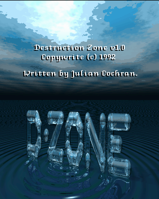 Pantallazo de D-Zone (a.k.a. Destruction Zone) para PC