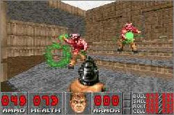 Pantallazo de DOOM para Game Boy Advance