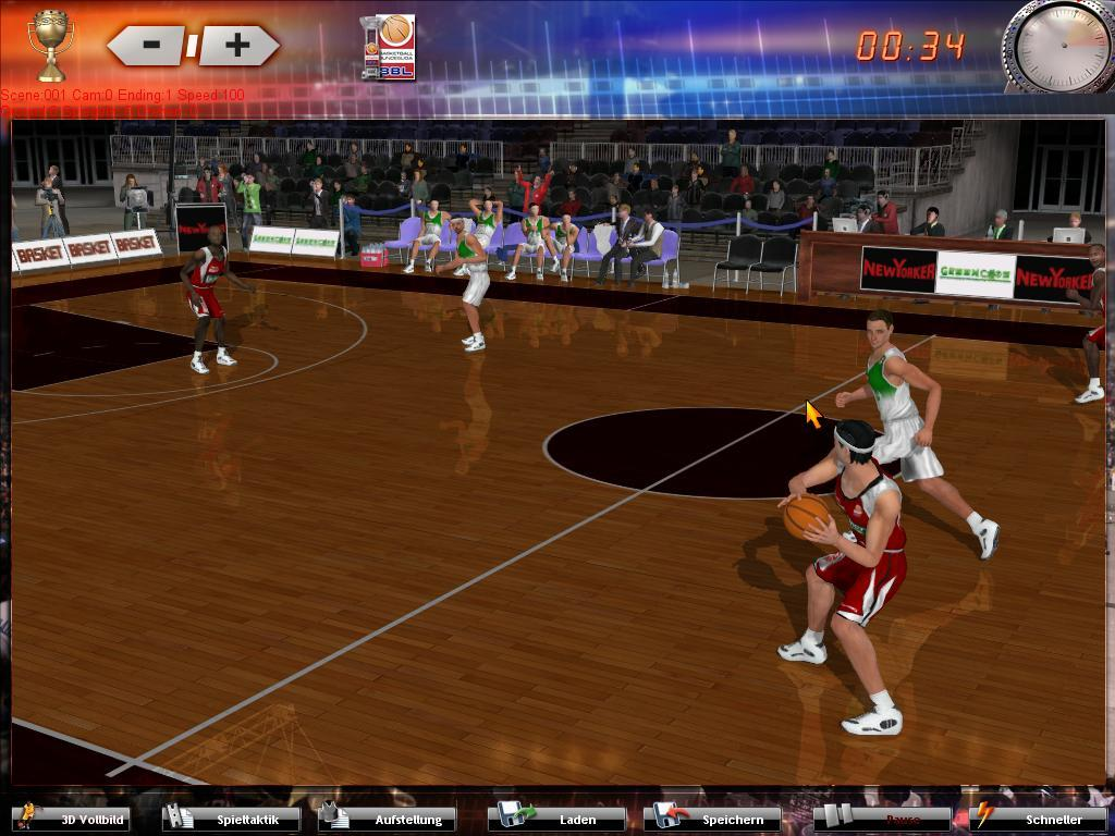 Pantallazo de DSF - Basketballmanager 2008 para PC