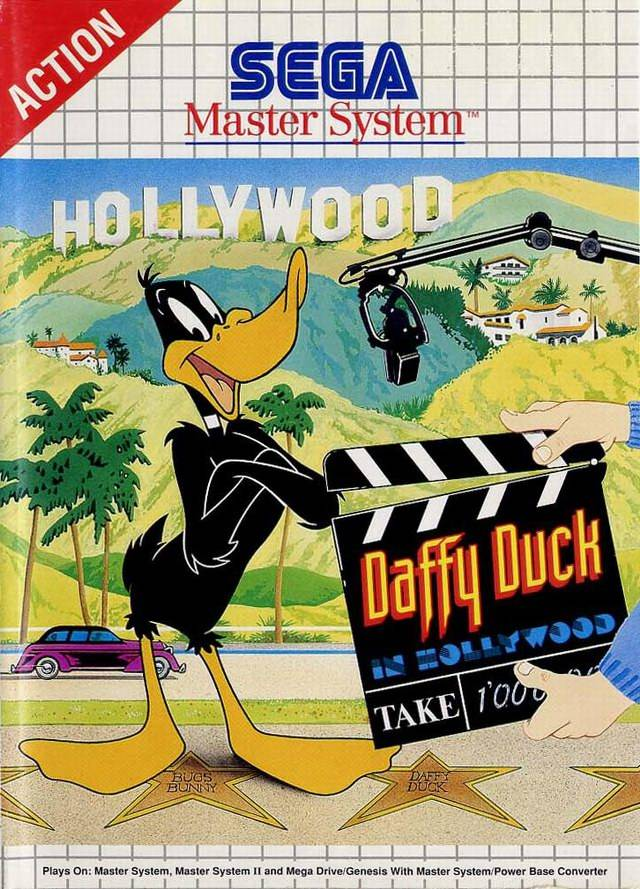 Caratula de Daffy Duck In Hollywood para Sega Master System