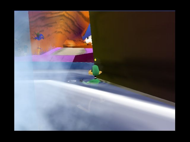 Pantallazo de Daffy Duck Starring As Duck Dodgers para Nintendo 64