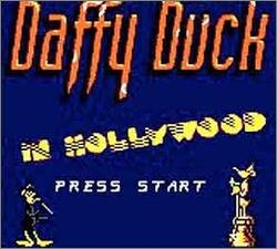 Pantallazo de Daffy Duck in Hollywood para Gamegear