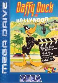 Caratula de Daffy Duck in Hollywood para Sega Megadrive