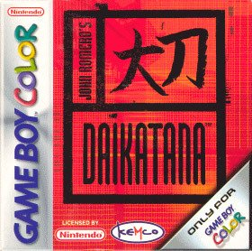 Caratula de Daikatana para Game Boy Color