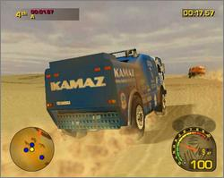 Pantallazo de Dakar 2: The World's Ultimate Rally para Xbox