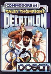 Caratula de Daley Thompson's Decathlon para Commodore 64
