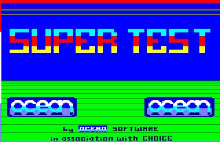 Pantallazo de Daley Thompson's Supertest para Amstrad CPC