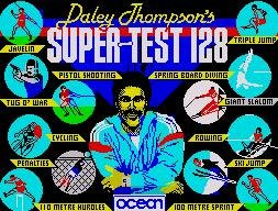 Pantallazo de Daley Thompson's Supertest para Spectrum
