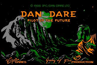 Pantallazo de Dan Dare: Pilot of the Future para Amstrad CPC