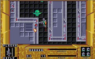Pantallazo de Dan Dare III: The Escape para Atari ST
