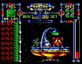 Pantallazo de Dan Dare III: The Escape para Amstrad CPC
